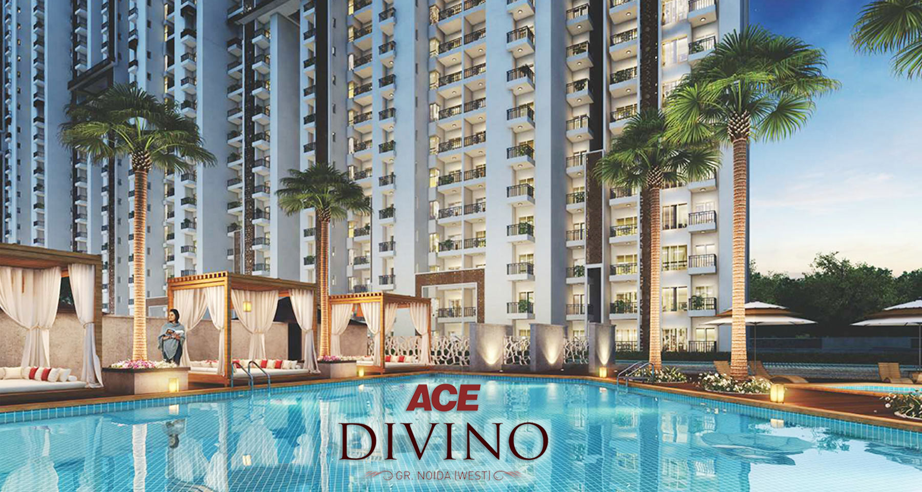 Give Your Family a Space to Enjoy the Grandeur @ ACE Divino Luxury Line in Greater Noida West