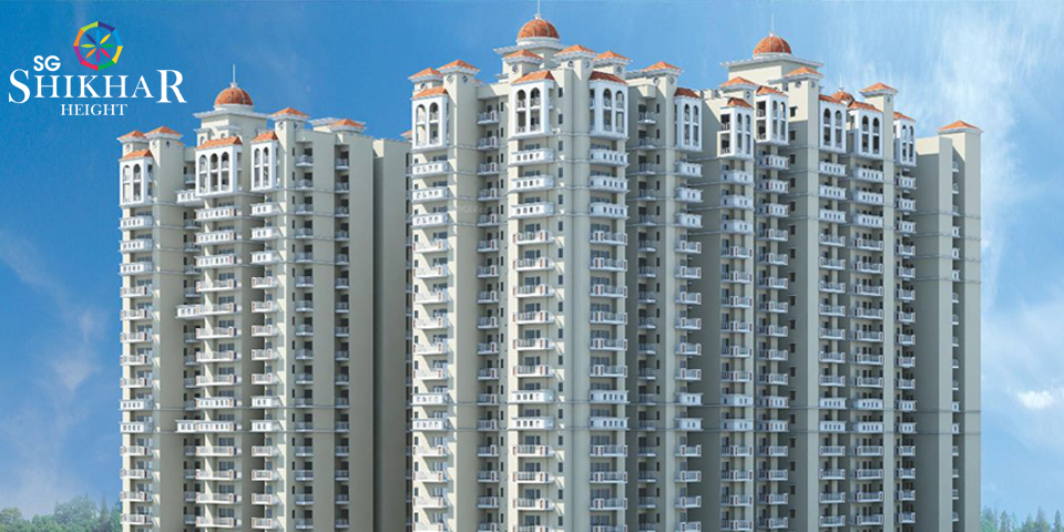 Check out SG Shikhar Height Siddharth Vihar for 2 &3 BHK Fla